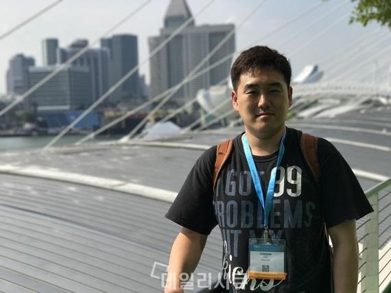 ▲ 신동휘 스틸리언 이사. RSA 2017 싱가포르=데일리시큐