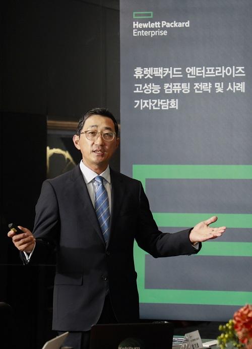 ▲ 한국 휴렛팩커드 함기호 대표이사