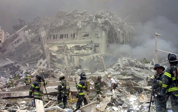 ▲ 뉴욕 9.11 테러 현장