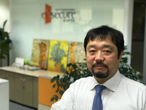 ▲ 문성준 엔시큐어 대표