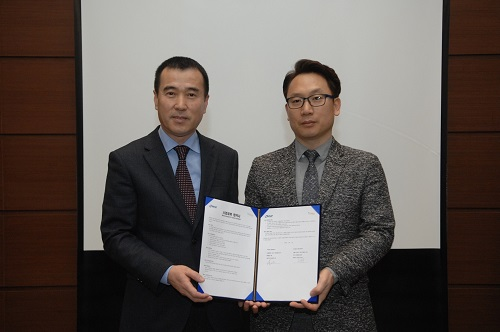 ▲ 앤앤에스피 김일용 대표(왼쪽), 인섹시큐리티 김종광 대표(오른쪽)