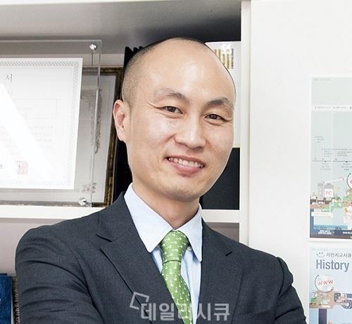 """▲ 지란지교시큐리티 윤두식 대표 """"신기술, 신사업 투자 강화"""""""