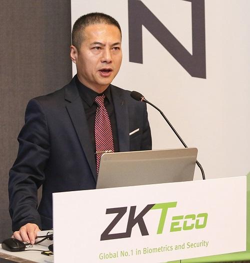 ▲ John Che ZKTeco 회장 겸 CEO