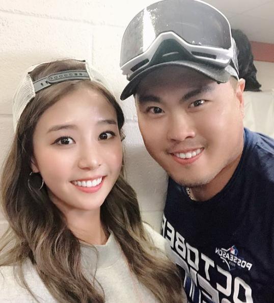 """'집사부일체' 류현진 """"결혼하고 첫 외박"""" 와이프 배지현 ..."""