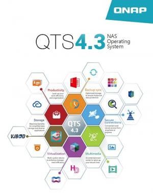 한성SMB솔루션, 큐냅 나스 운영체제 QTS 4.3 공개