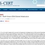 US-CERT, 북한 DDoS 봇넷 해킹그룹 '히든코브라' 경고