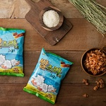 우리 쌀과 밀로 건강하게 만든 홀푸드 스토리 '쌀소라형 과자'