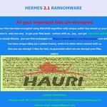 '헤르메스' 랜섬웨어 국내 웹 통해 유포… 주의 요망