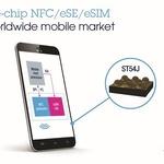 ST마이크로일렉트로닉스, NFC 컨트롤러-보안소자-eSIM 통합한 고집적 모바일 보안 칩 출시